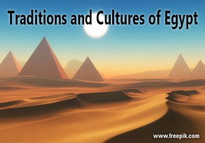 Traditions and Cultures of Egypt - Globalization Partners