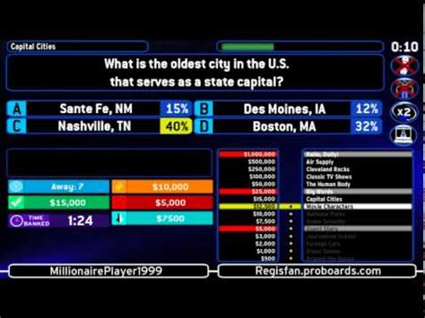 Who Wants to be a Millionaire - Host's Screen 2008 - YouTube