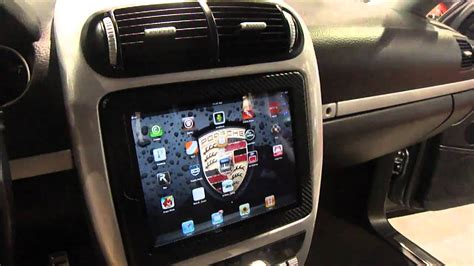 Best iPad 2 install into car, motorized