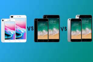 Apple iPhone 8 vs iPhone 7 vs iPhone 6S: What's the
