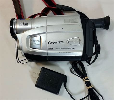 JVC Compact VHS Camcorder, Model GR-AX880U with 600x