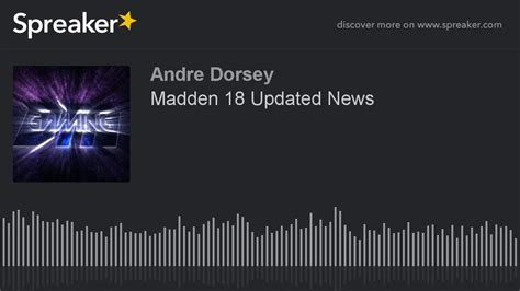 Madden 18 Updated News - YouTube
