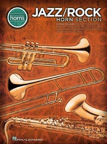Jazz/Rock Horn Section - Transcribed Horns (noty, saxofon