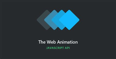 Getting Started With The JavaScript Web Animation API