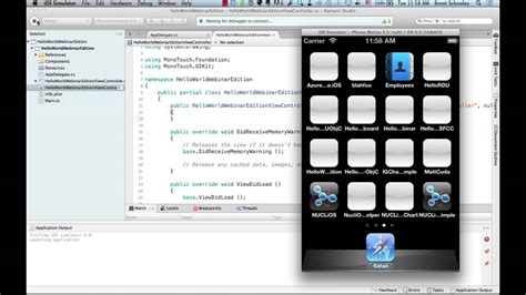 Creating iOS Apps with C# Using Xamarin