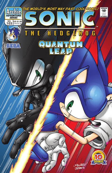 Archie Sonic the Hedgehog Issue 103 | Sonic News Network