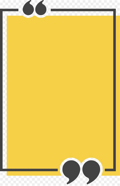 Congee Text box Quotation Icon - Yellow rectangle title