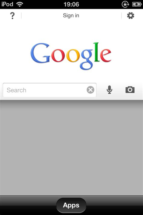 Google Search App for iOS - Coolsmartphone