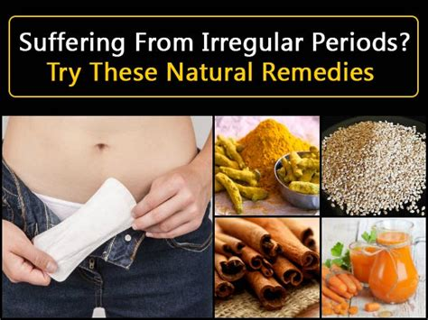 Suffering From Irregular Periods ? Try These Natural