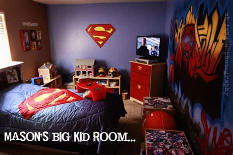 Mason's Superman room makeover