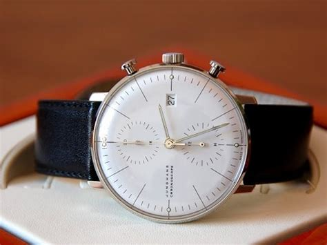 Junghans Max Bill Chronoscope 027/4600