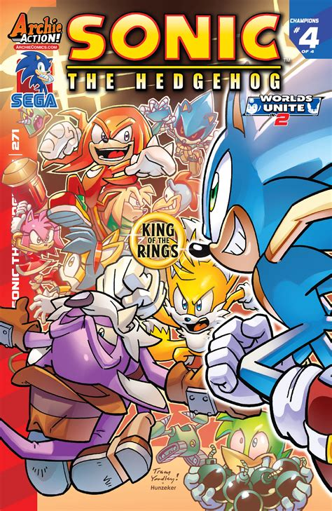 Archie Sonic the Hedgehog Issue 271 | Sonic News Network