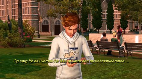 The Sims 3 Universitetsliv Launch Trailer DK - YouTube
