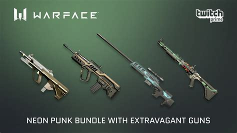 NeoN Punk Bundle for Twitch Prime members - Warface