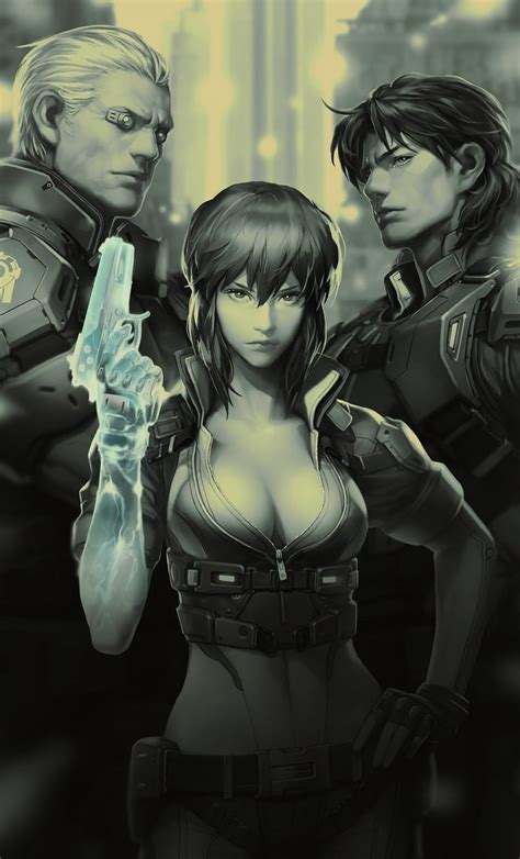 Ghost in the Shell Online – Trailer debuts at G-Star for