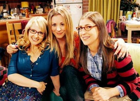 The Big Bang Theory actress delivers 'one of the