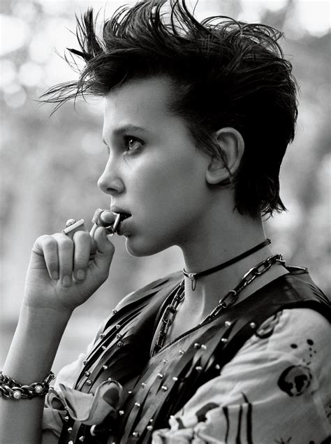 'Stranger Things' Star Millie Bobby Brown Lands First