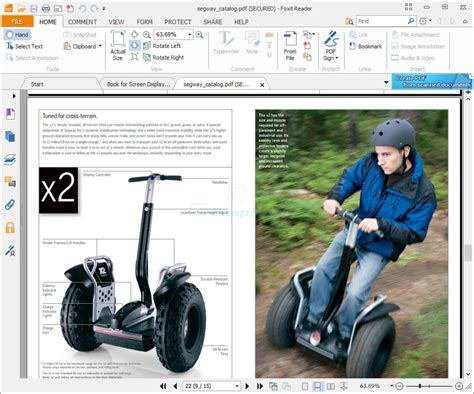 Foxit PDF Reader - view and print PDF files