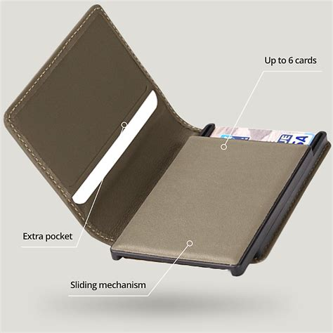Rigid RFID Wallets - Pages