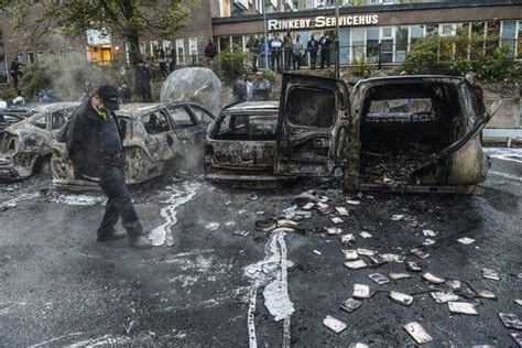 Sweden's Riots Put Its Identity in Question - The New York