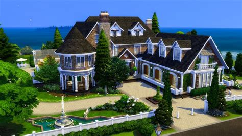 The Sims 4    Speed Build    Magnolia Rise - YouTube