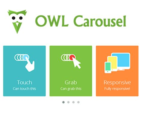 OWL Carousel – Touch Enabled and Responsive jQuery