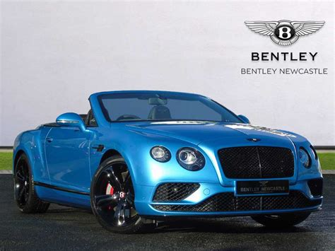 Bentley used car Continental GT V8 S Convertible Blue
